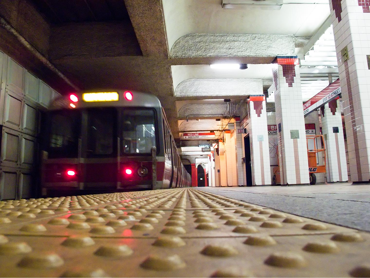 Red Line T Train