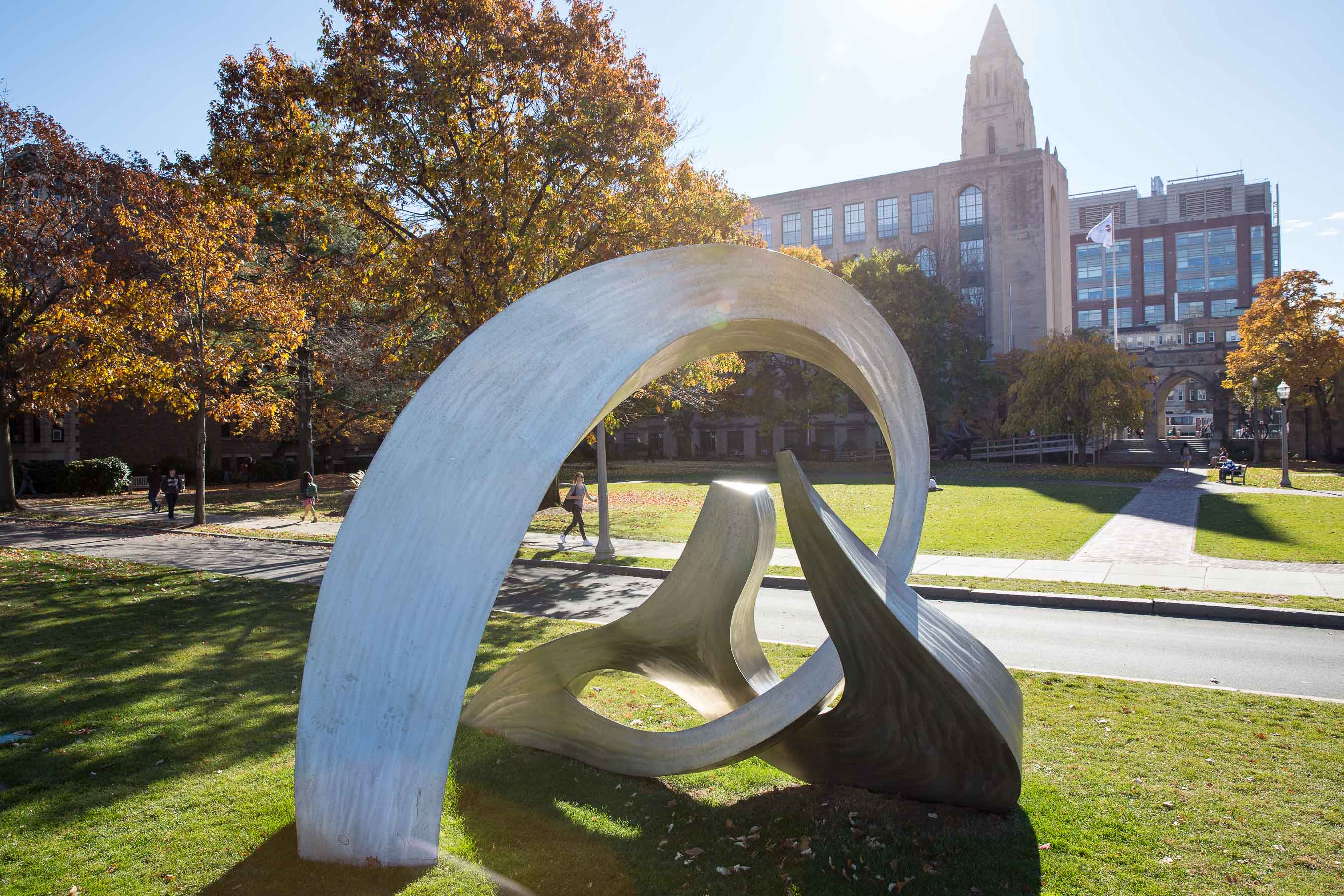 Boston University Couterpoint sculpture