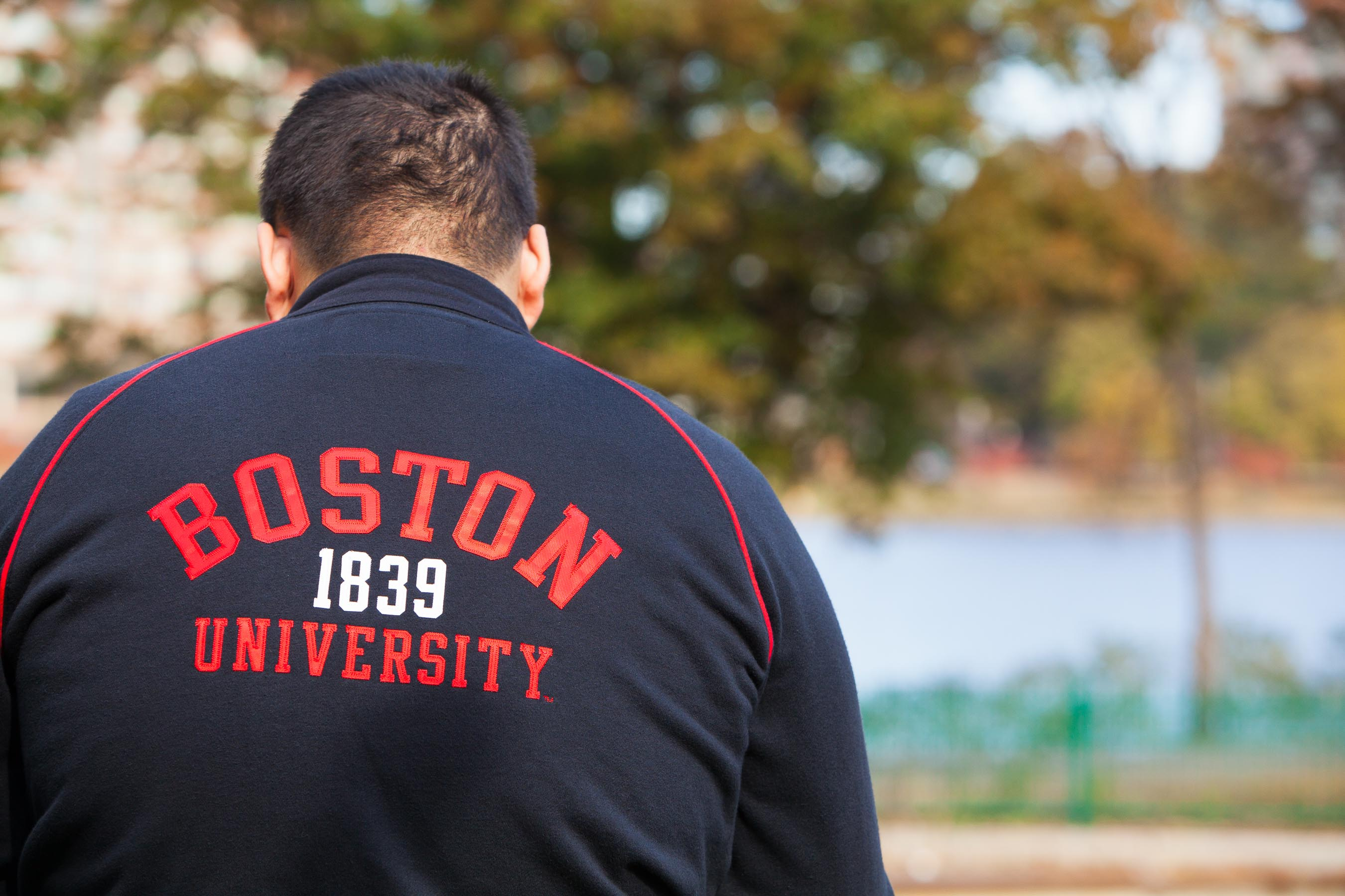 Boston Univeristy student jacket