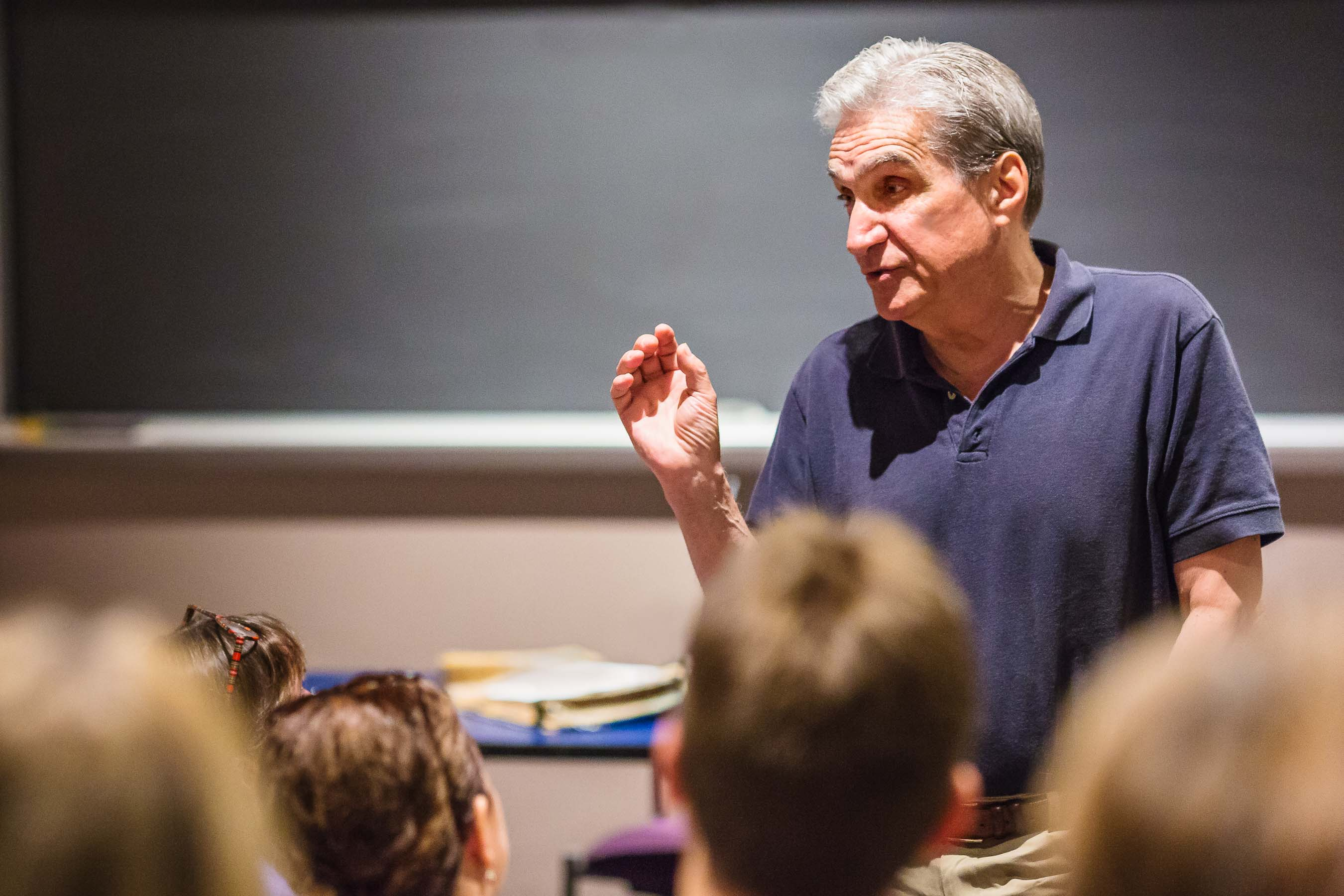 Robert Pinsky, American Poet, teaching at Boston University